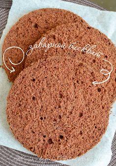 Рецепт приготовления заварного бисквита. Рецепт с пошаговыми фотографиями. Бисквит рецепт