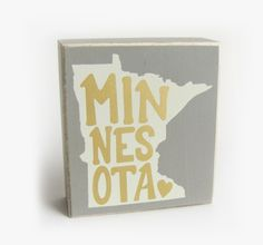 Box Sign - Minnesota