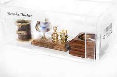 Dollhouse Miniature 1:12 Scale Artisan Brooke Tucker Smoke Set
