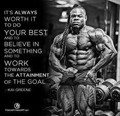 Kai Greene, Olympia, Bodybuilding, Muscle, Belief, Goals, Fitness, Greatness, Effort, Work #MENFITNESSMOTIVATION