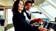 Lisbon, Jane - Their are always so in sync. :)