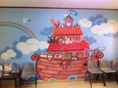 Noah Land Ho mural