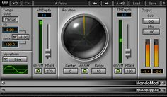 Using an exclusive combination of linked AM, FM and Rotation modulators, the MondoMod chorus plugin creates unique modulation textures, from tranquil to turbulent.
