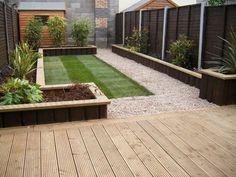 Back garden decking designs