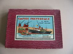 Example of the game Empire Preference Map Games, Vintage Games, Table Games, Wooden Boxes, Empire, Board Games, Wood Boxes, Wooden Crates, Tabletop Games