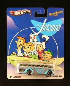 Amazon.com: SURFIN' SCHOOL BUS * THE JETSONS * Hanna-Barbera Presents Hot Wheels 2011 Nostalgia Series 1:64 Scale Die-Cast Vehicle: Toys & Games