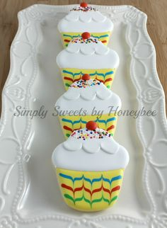Cupcake Cookies for Autism