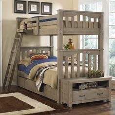 Highlands Harper Twin Over Twin Bunk Bed