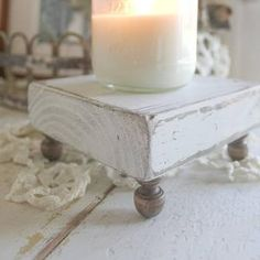 Small Wood Projects, Scrap Wood Projects, Woodworking Projects, Decor Crafts, Wood Crafts, Candle Tray, Wood Tray, Tray Decor, Wooden Diy