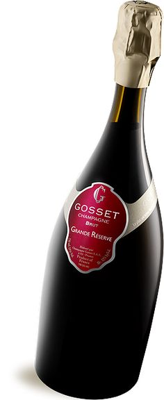 GRANDE RÉSERVE Brut - Champagne Gosset, celebrated our 14th wedding anniversary with this!