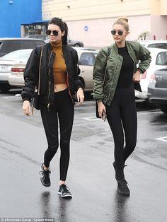 Love those minimalist sportswear looks