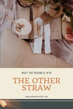 The business founded by Jamie-Lee Kay and his other half Lennart offers an effective alternative to eliminate plastic straws by encouraging the use of sustainable, reusable bamboo straws. Why bamboo? To start with, it Fast Growing Plants, Jamie Lee, Use Of Plastic, Straws, Sustainability, Bamboo, Alternative, Meet, Business