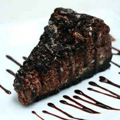 Yield: 12 Servings    Ingredients:    For the crust  32 pieces crushed Oreo cookies with chocolate filling  3 tablespoons melted butter    For the filling  4 bars cream cheese, softened  2 cups white sugar  1 1/2 cups semi-sweet chocolate chips or