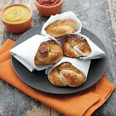 Best-Ever Soft Pretzels | MyRecipes.com Enjoy these warm from the oven... there's nothing like them!