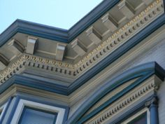 Victorian angles and detail...art for the eyes!  detail on victorian house,north beach,san francisco by califpoppy1621