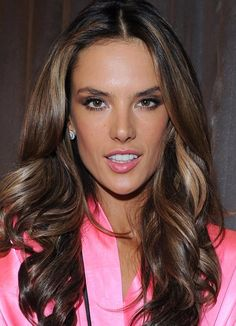 Alessandra Ambrosio makeup at 2012 Victoria's Secret Fashion Show