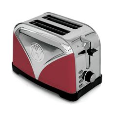 Campervan Gift - Volkswagen Campervan Red Toaster, (http://www.campervangift.co.uk/volkswagen-campervan-red-toaster/)