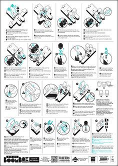 Instruction Manual By Matthew Dobrez Via Behance  Ep Theme