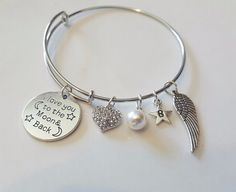 I love you to the Moon and Back by SoutherncharmedStore on Etsy