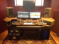 home recording studio desk. Interior Design Ideas. Home Design Ideas