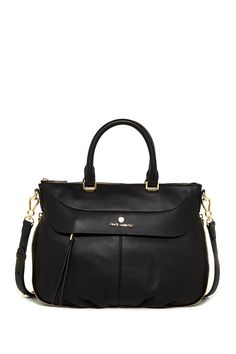 Dean Large Leather Satchel by Vince Camuto on @nordstrom_rack