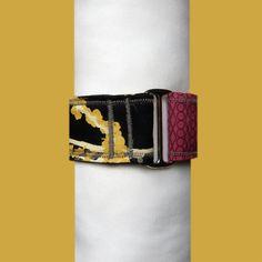 Collar tipo Martingale de 50mm de ancho.