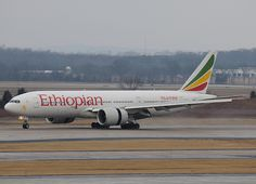 Ethiopian Airlines Boeing 777-260LR ET-ANN cn 40770/900 The Blue Nile by tipekusair, via Flickr