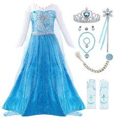 Little Girl Princess Dresses, Princess Fancy Dress, Disney Princess Dresses, Princess Party, Queen Halloween Costumes, Girl Costumes, Halloween Cosplay, Girl Halloween, Cosplay Costume