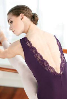 FlexTek Lace Accent Back Leo - FlexTek - Product no longer available for purchase Cute Dance Costumes, Ballet Costumes, Leotard Fashion, Dance Fashion, Ballet Wear, Dance Wear Solutions, Ballet Images, Pullover Shirt, Ballet Clothes