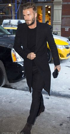 David Beckham perfectly dressed as usual