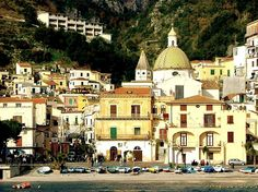 Fishing village Cetara, Italy. Cetara is a town and commune in the Province of Salerno in the Campania region of south-western Italy. Cetara is located in the territory of the Amalfi Coast.