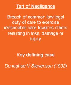 donoghue v stevenson analysis 18062018 view duty of care from law 111 at tsinghua university duty of care how to analysis a case or set of facts: - mirat donoghue v stevenson.