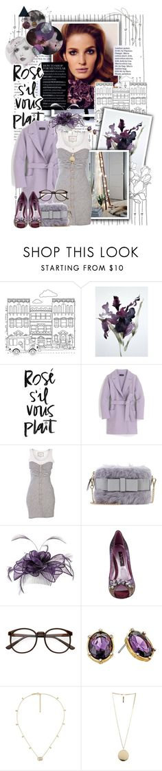 """""""Iris."""" by crystal85 ❤ liked on Polyvore featuring Tempaper, WALL, J.Crew, Miu Miu, Monsoon, Nina, Lauren Ralph Lauren, Gucci and Givenchy"""