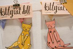 Jordan Grace's pin cats