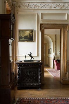 Ireland Country House - Todhunter Earle Interior Design. Movement and so many form of lines. Shapes, texture.