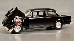 "1955 Chevrolet, ""American Graffiti"" movie car Details - Diecast ..."
