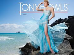 Tony Bowls Collection Style 213C01 now in stock at Bri'Zan Couture, www.brizancouture.com