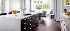 Say Buh-Bye Granite And Hello To Quartz Countertops. Quartz countertops are making their debut in kitchens and bathrooms everywhere with class and style. Kitchen And Bath Design, Kitchen Decor, Kitchen Ideas, Kitchen Designs, Marble Collection, Taj Mahal, Quartz Kitchen Countertops, Kitchen Cabinets, Cuisines Design