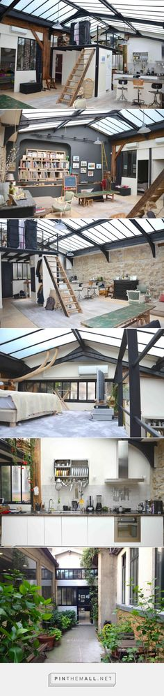 Un loft atelier à Paris - PLANETE DECO a homes world - created via https://pinthemall.net