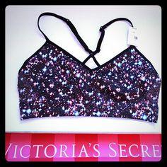 2f9714436f New! PINK galaxy bralette  sport bra New with tags! Galaxy print bra!