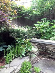 Hostas and hellebores, planted in clumps in a shady New York City backyard designed by Brook Klausing. For more of this garden, see Rental Garden Makeovers: 10 Best Budget Ideas for an Outdoor Space. Small Backyard Gardens, Backyard Landscaping, Backyard Ideas, Garden Makeover, Modern Outdoor Furniture, Shade Garden, Amazing Gardens, Perennials, Garden Design