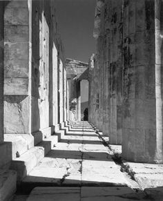 Partenon, The Acropolis, Athens, Greece, 1937. Photo by Herbert List