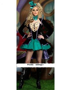 9087ef4cfaaac Encontre Fantasia Luxo Feminina Magica Adulto Pronta Entrega no Mercado  Livre Brasil. Descubra a melhor forma de comprar online.