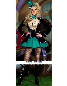 Fantasia Luxo Feminina Magica - Adulto - Pronta Entrega - R$ 145,00