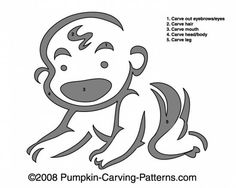 Pumpkin Carving Patterns and Stencils Zombie Pumpkins Babys