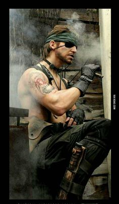 Cosplay... Metal gear solid :)