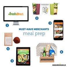 Preparing healthy, fresh, and quick meals can be difficult with a busy lifestyle. Let these Merchants help! #musthavemerchants #foodie #easypeasy