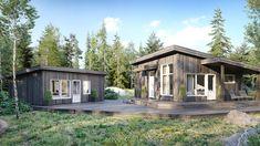 Bilderesultat for norsk modernistisk hytte