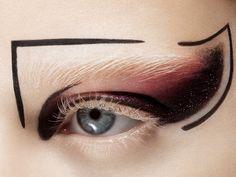 Eye Makeup Ideas With Red Lipstick; Eye Makeup Looks Pink Eye Makeup, Runway Makeup, Makeup Art, Beauty Makeup, Hair Makeup, Makeup Style, Makeup Inspo, Makeup Inspiration, Makeup Ideas