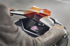 BMW unveils design for zero-emission motorrad concept link bike